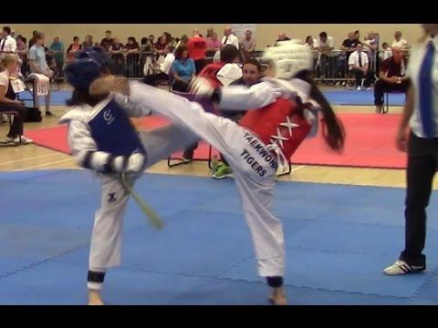 Liverpool Open Taekwondo Championships pee wee class B 26kg