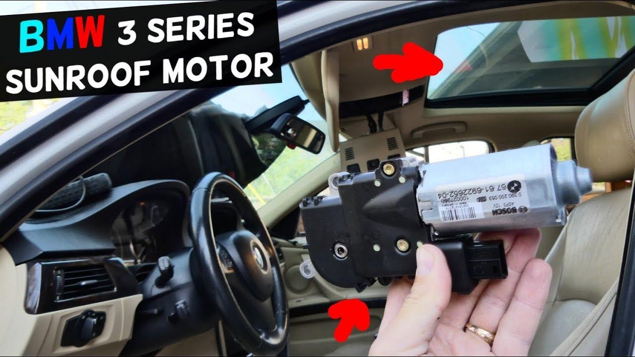 How To Replace Sunroof Motor On Bmw E90 E91 E92 E93 Youtube