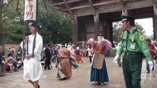 平城京天平祭ー東大寺参拝ー> 今、奈良の古の新しい歴史が始まろうとし...