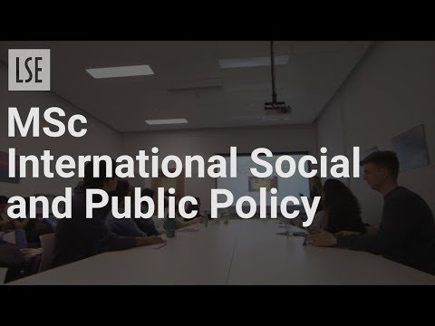 MSc International Social and Public Policy General Stream