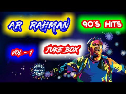 AR Rahman 90's Hits   Melody   Juke Box   Tamil   Music Box 7