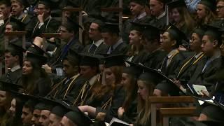 2018 Economics Undergraduate Commencement