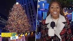 Rockefeller Center Christmas Tree Lighting 2019 | Listen Up Live