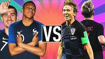 JALKAPALLON MM-FINAALI (Ranska vs Kroatia 4-2)