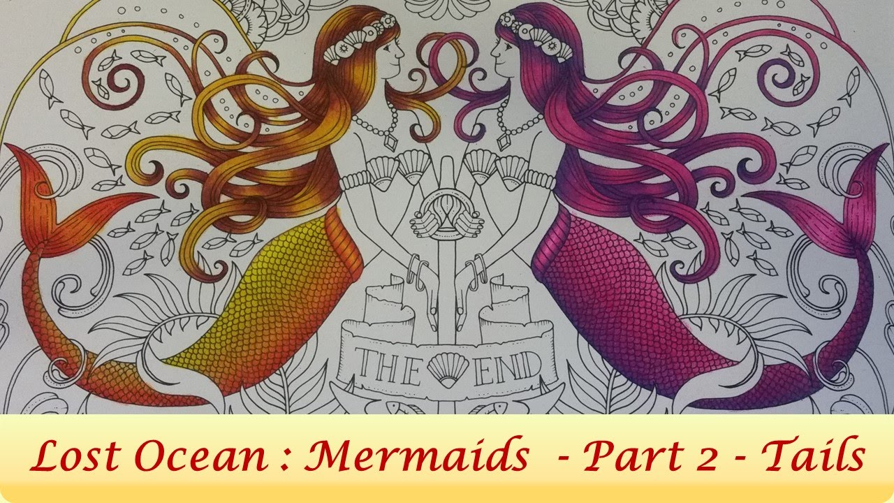 How To Color Mermaid Tails