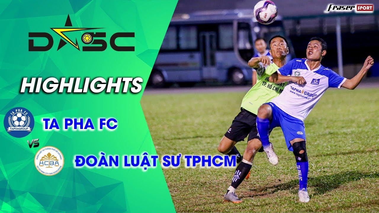 [HIGHLIGHTS] TAPHA FC x ĐOÀN LUẬT SƯ TPHCM | TRẬN DERBY NGÀNH LUẬT