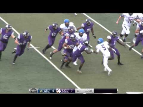 Wayland Baptist vs SAGU (First Half) » College Football 2015