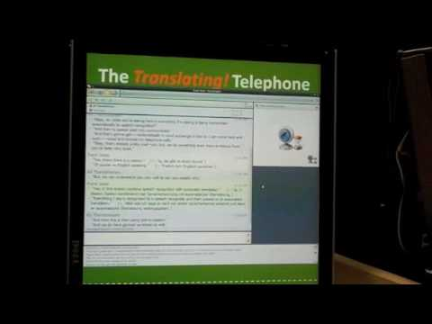 Microsoft Research Translating Telephone