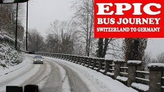 Epic Bus Journey from Zurich to Munich | Switzerland to Germany by Bus
