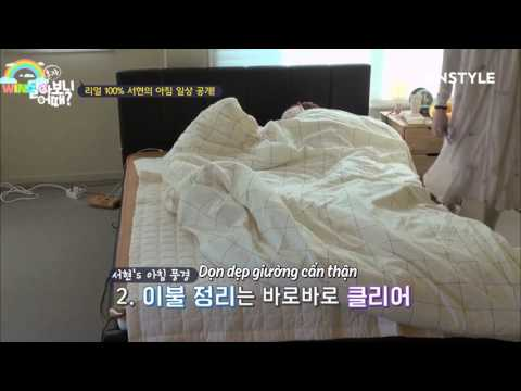 [VIETSUB] 170308 SeohyunHome Ep5 (Seohyun's Morning Routine Is No Different from Ours)