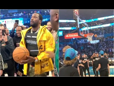 Meek Mill Wins $40k After Hitting Courtside Shot At NBA All Star Game