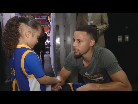 Kid Gets Curry Autograph