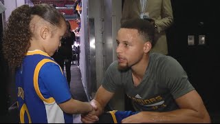Steph Curry Grants Wish to 5-Year-Old Boy Fighting Cancer