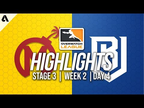 Florida Mayhem vs Boston Uprising | Overwatch League Highlights OWL Stage 3 Week 2 Day 4