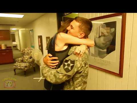 🔴 Soldiers Coming Home Surprise...