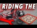 RIDING THE DEATHTRAP!!!