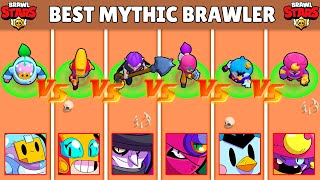 Best MYTHICAL Brawler in BRAWL STARS ! Olympiad !