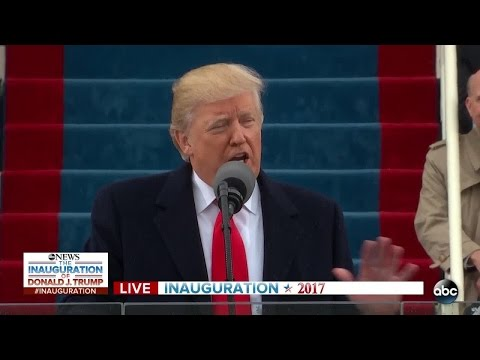 FULL - President Donald Trump's Inaugural Address as 45th President of the United States of America