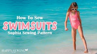 How to Sew Swimsuit | Tutorial | DIY