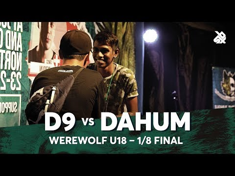 D9 vs DAHUM | Werewolf Under 18 Beatbox Championship 2018 | 1/8 Final