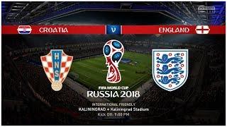 Prediksi Semifinal Piala Dunia 2018: Kroasia vs Inggris (Simulasi FIFA 18)
