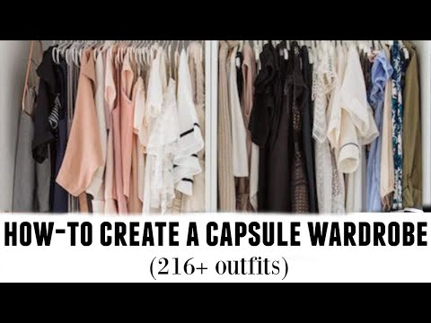 HOW-TO BUILD CAPSULE WARDROBE: tips from a stylist