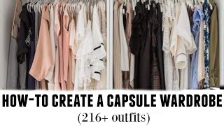 HOW-TO BUILD A CAPSULE WARDROBE: tips from a stylist
