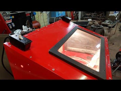 (Pt. 8) HF Blast Cabinet - Lighting Upgrade Kit (Harbor Freight)