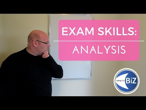 A level Business Revision - Chains of Analysis