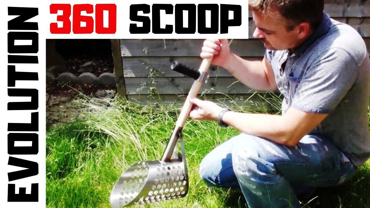 Evolution 360 Scoop Stainless Steel Beach Sand Scoop