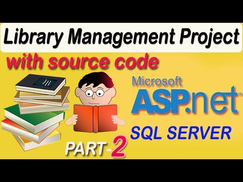 Library Management System project in ASP.NET C# with source code PART #2