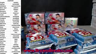 2018 Bowman Draft Baseball Jumbo 8 Box Case ~ PYT #41