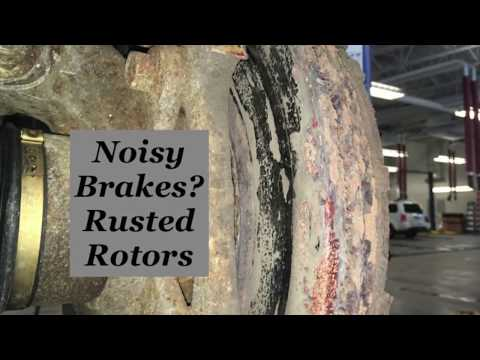 Brake Noises? Rusted Rotors