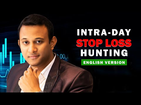 Intra-day Stop Loss Hunting Explained - English