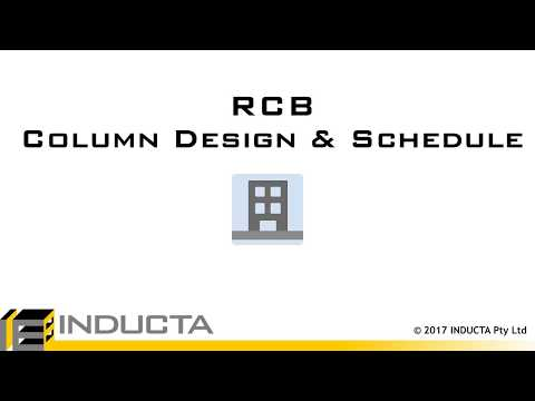 RCB 18  - Column Design and Schedule