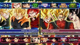 Baixar Xeno Gogeta All Forms VS Xeno Vegetto All Forms | Dragon Ball Z Budokai Tenkaichi 3