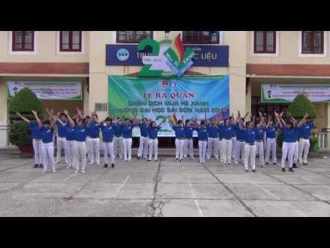 [Xanh tình nguyện] - Sức sống tuổi trẻ - Lễ ra quân Mùa hè Xanh 2013 trường ĐHSG