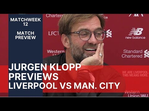 premier-league-match-preview-|-liverpool-v-manchester-city-|-jurgen-klopp-press-conference