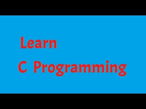 #2 C Programming: Types of Error.