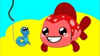 Kırmızı Balık - Eğlenceli Bebek Şarkısı