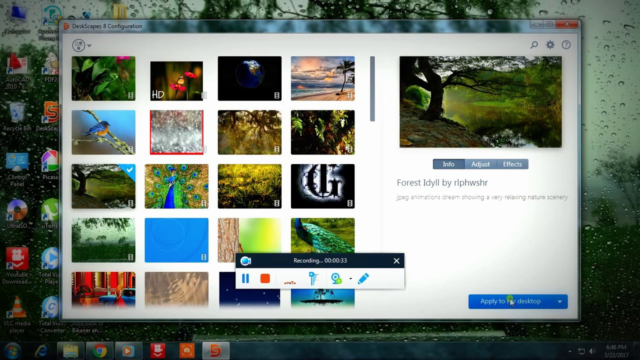 how to set live wallpaper on windows 7