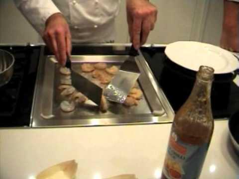 Neff N54K40N0 TeppanYaki kookplaat demonstratie bij de