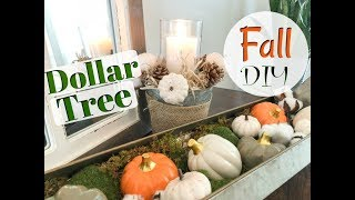 DOLLAR TREE FALL DIY + DECORATE WITH ME| EASY FALL Farmhouse Style DIY| Megan Navarro
