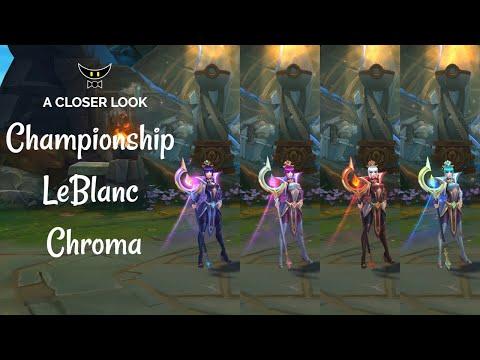 Championship LeBlanc Chromas
