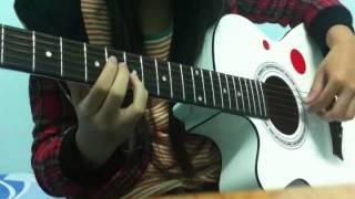 On rainy days  BEAST guitar