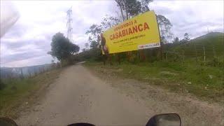 52 LLegando a Casabianca-Tolima.Tour en moto por pueblos y ciudades de Colombia.