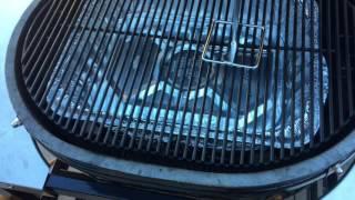 Smoked Turkey on the primo ceramic grill