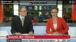 Kymmenen Uutiset 22.3.2012 Uutisankkurit Repeilevät