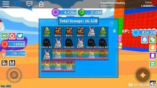 Roblox ice cream simulator rainbow giveaway🌈