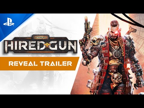 Necromunda: Hired Gun - Reveal Trailer | PS5, PS4